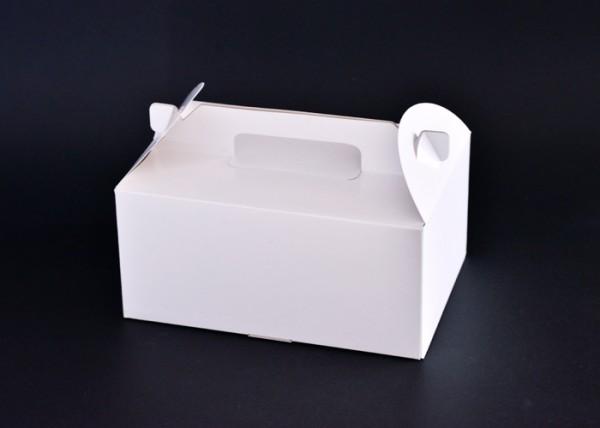 ケーキ・キャリー型の箱