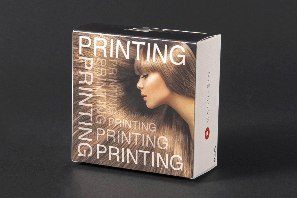 Mパール 箱印刷の例