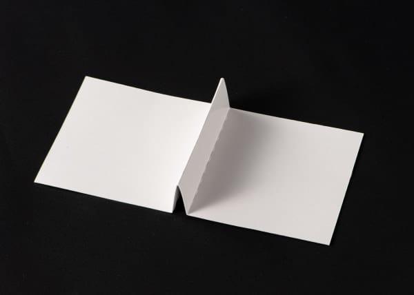 山折り型仕切り