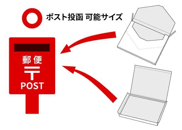 mailbin post at メール便型の紙箱