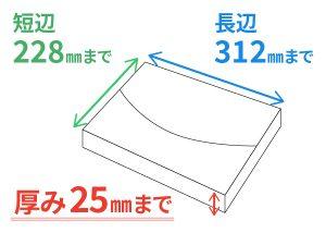 nekoposu at メール便型の紙箱